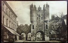 Early 1900's Postcard Micklegate Bar York England