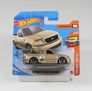 Hot Wheels Hot Trucks 2020, Ford F-150 SVT Lightning gold  GHB33 1/64