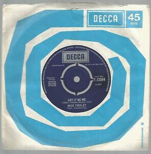 Mick Tinsley - Let It Be Me 1967 UK Decca 45 VG/VG Hedgehoppers Anonymous