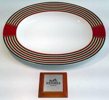 Hermes Attelage - Piatto Ovale Hermes Porcellana Attelage - Piatto 36cm Attelage