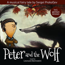 CD Peter And The Wolf por Leonard Bernstein, Musical Cuento de Hadas Prokofjev