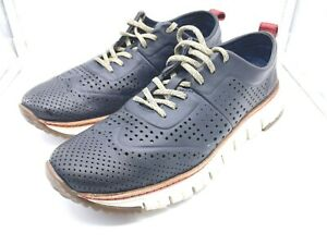 COLE HAAN Men's GRAND C21567  Navy Blue Casual Oxfords Lightweight Size 8.5M