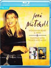 BLU-RAY JONI MITCHELL WOMAN OF HEART & MUSIC + PAINTING WITH WORDS AND MUSIC