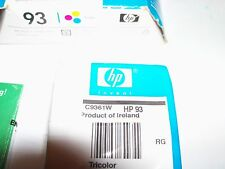 HP 93 Tri-color Ink Cartridge. C9361W. Fast Shipping!