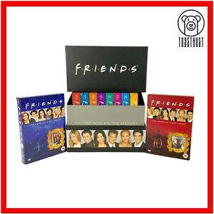 Friends The Complete Series DVD Box Set 1-10 Region 2 Ultimate Collection Comedy
