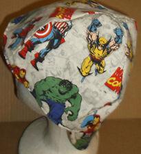Super Heroes Scatter 100% cotton, Welding, Biker, pipefitter,4 panel hat