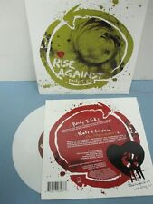 "Rise Against ‎2006 Ready To Fall PROMO 7"" WHITE vinyl NEW old stock never play"