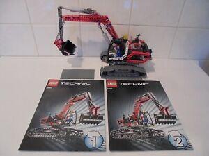 LEGO TECHNIC 8294 EXCAVATOR - 100% COMPLETE