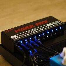 Mr.Power Guitar Effect Pedal Power Supply 10 Isolated Outputs 9V/12V/18V