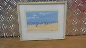 Donald Fraser Ltd Edition Art Print - Beach Scene - Signed LRHS