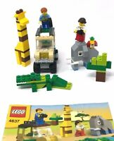 LEGO Bricks & More Safari Building Set 4637 Elephant Giraffe Crocodile