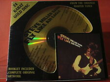 """DCC GZS-1033 STEVE MILLER """" FLY LIKE AN EAGLE """" (24 KT GOLD COMPACT DISC/SEALED)"""