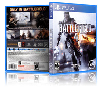 Battlefield 4 - ReplacementPS4 Cover and Case. NO GAME!!