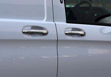 Cromo Manija Recortar Cubiertas W/O Llavero Ent Para Mercedes-Benz v-class 15+