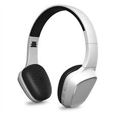 Auriculares blancos bluetooth para consolas de videojuegos