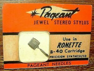 Stereo NEEDLE RO-148-S for Ronette BF-40, S1-075 SA-075 N601-7d 702-S7 EV3005