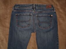 Bullhead Size 0 Short Venice Skinny Dark Blue Stretch Denim Womens Jeans