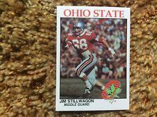 Ohio State University Football Card Lineman Jim Stillwagon Mint.    OSU