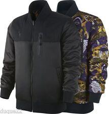 Nike Air Kobe Bryant Jordan Reversible Jacket Schwarz Varsity SIZE XXL