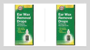 Ear Wax Removal Drops 0.5 oz- pack of 2