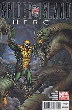 Marvel comic magazine SPIDER ISLAND HERC No 8 nov 2011  [ A1 ]