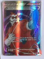 Xerosic FULL ART RARE ULTRA RARE Trainer 119/119 Pokemon XY Phantom Forces NM