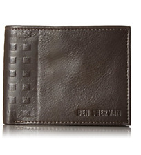 Ben Sherman Men's Holland Park Leather Wallet RFID Blocking