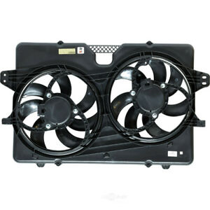 Dual Radiator and Condenser Fan Assembly-XLT, VIN: 1, GAS UAC FA 50074C