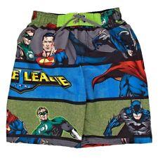 Justice League Superheroes Boys Swim Trunks Size 5/6 New