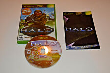 Halo: Combat Evolved (Microsoft Xbox, 2001) BUNGIE Video Game  - COMPLETE
