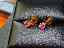 Pink Sapphire Earrings BN
