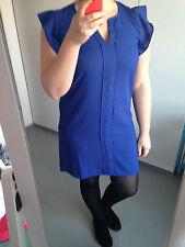 Kleid Partykleid Gr. 40 / L H&M blau Dress Etuikleid Abendkleid Cocktailkleid