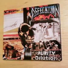 Defecation CD Purity Dilution Nuclear Blast Napalm Death Metal Grind Grindcore