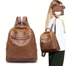 Fashion Women Lady School Leather Girls Backpack Travel Handbag Shoulder Bag