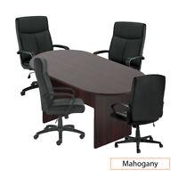 GOF 6 FT Conference Table 6FT, Mahogany Mahogany Cherry Espresso Walnut