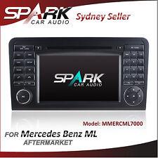 """7"""" SPARK GPS DVD SAT NAV IPOD BLUETOOTH NAVIGATION FOR MERCEDES ML GL CLASS"""