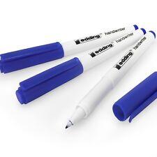 Edding Handwriter Écriture Manuscrite Stylo – Encre Bleue – 0.6mm - Paquet de 3