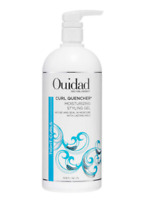 Ouidad Curl Quencher Moisturizing Styling Gel 33.8 oz Liter Jumbo With a PUMP