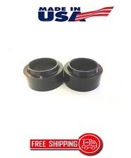 """FORD THUNDERBIRD 1980-1988 REAR LIFT KIT 1"""" BLACK DELRIN COIL SPRING SPACERS"""
