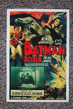 The New Adventures of Batman & Robin Lobby Card Movie Poster 30s Robin Rescuses
