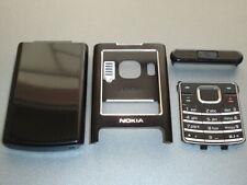 New Nokia  6500c housing cover  keypad fascia set  black colour