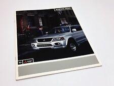 2003 Mitsubishi Montero Sport Brochure USA