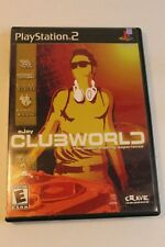 eJay Clubworld PS2 excellent condition complete with manual game