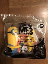 McDonald's 2017 Despicable ME3 #12 BANANA FLIPPER MINION NEW Buy 3 Get 4 (2)$