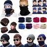 Men Women Unisex Winter Knitted Slouchy Beanie Hat Warmer Ski Cap Neck Scarf Lot