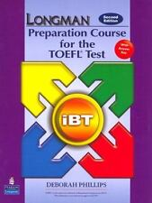 Preparation Course for the TOEFL Test - iBT by Deborah Phillips (2007, CD-ROM /