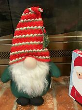 Christmas Gnome Red and Green New 8 in x 5 in x 16 in