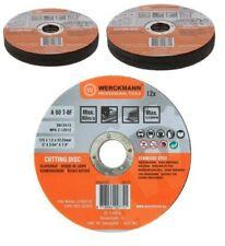 Lot 24 Disques à Tronçonner meuleuse 125 x 1,2 mm pour inox acier inoxydable