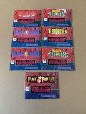 Lot Of 7 Nintendo Virtual Boy Manual Only Mario Galactic Pinball Panic Bomber