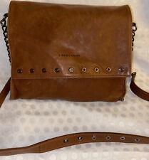 Longchamp Brown Leather Crossbody